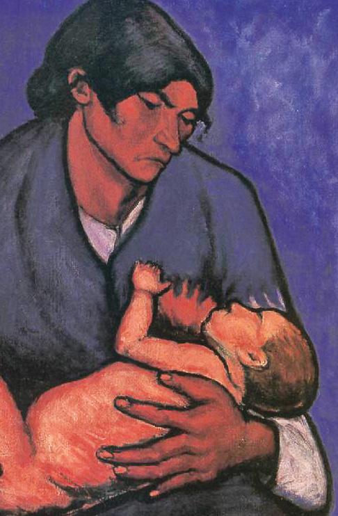 Moeder en kind soos die Bybel dit beskryf