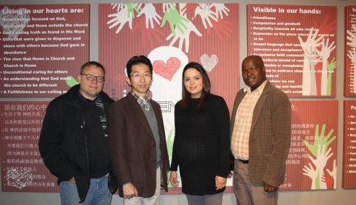 Afrikaans, Sotho en Chinees – almal is saam kerk by Hugenoot