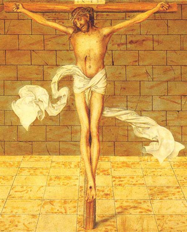 Deur lyding en kruis …