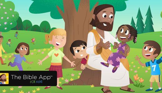 Bybel-toep ontsluit Bybel vir kinders