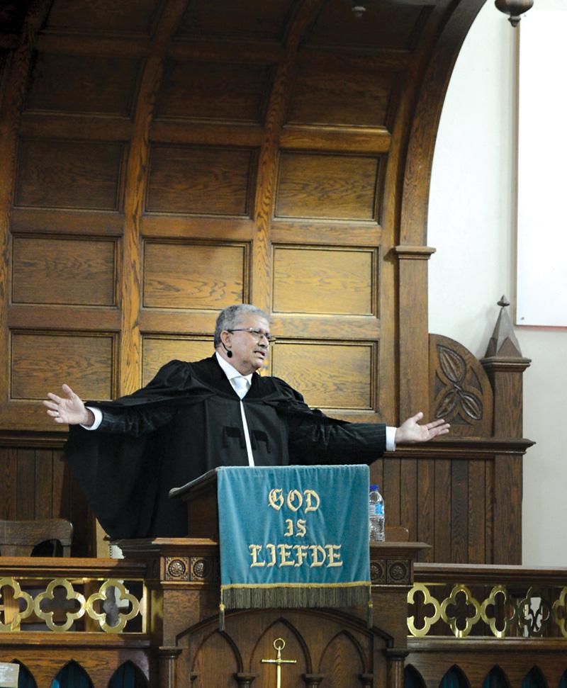 Ekumeniese dag bring soeke na vrede na vore