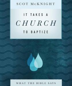 Só het McKnight se doopbeskouing geskuif