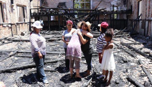 Kerk brand af, maar lofliedere klink steeds op