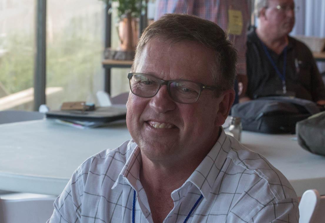 Dr Dewald Davel van die NG gemeente Molteno. Hy is verkies tot onder-voorsitter van die Oos-Kaapse sinode.