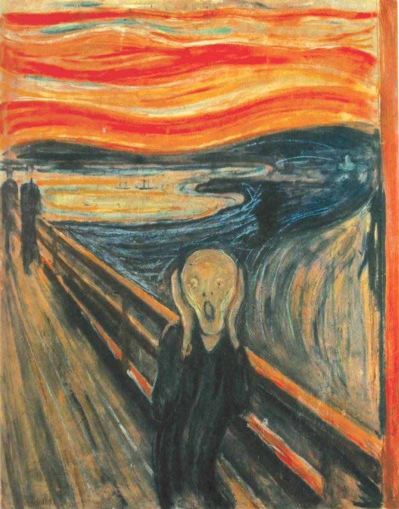 'n Oerkreet van angs en protes