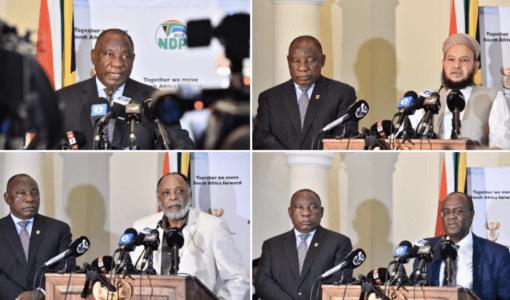 Koronavirus: Geloofsleiers het gróót rol te speel – Ramaphosa