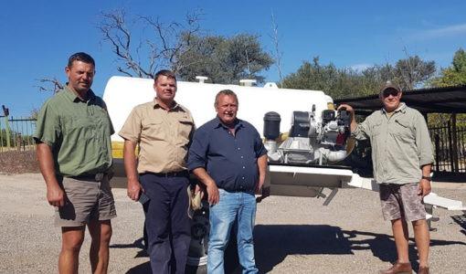 Ongewone 'bediening': Kalahari-gemeente koop rioolwa