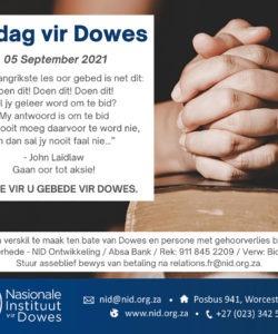#Covid: Gesigmaskers beperk Dowe kommunikasie